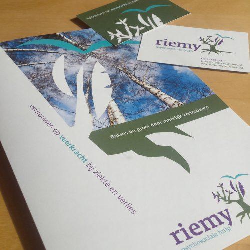 Logo en huisstijl Riemy | psychosociale hulp