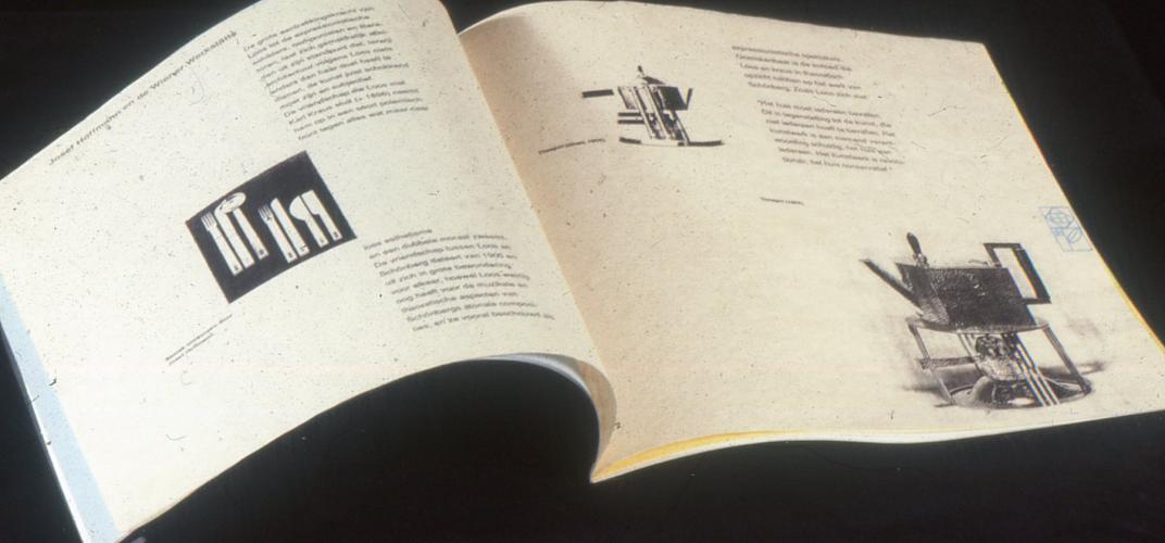 Ontwerp catalogus Wiener Werkstätte