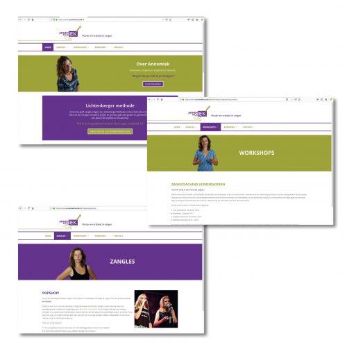 Annemiek Muziek website