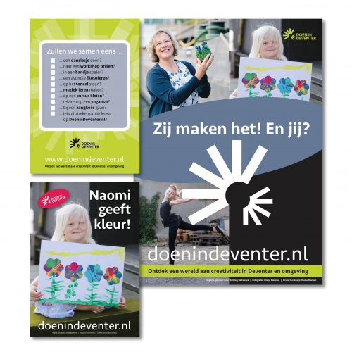 Flyers en posters Doen in Deventer