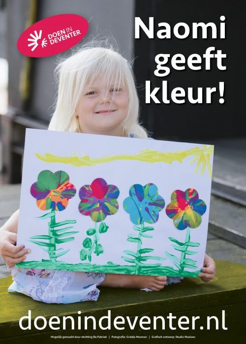 Postercampagne DoeninDeventer straatborden