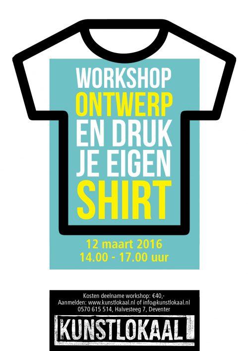 Posters workshops Kunstlokaal
