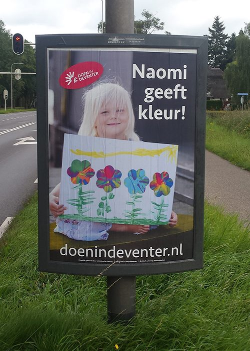 Campagne straatposters DoeninDeventer.nl