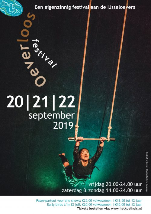 Affiche Festival Oeverloos 2019