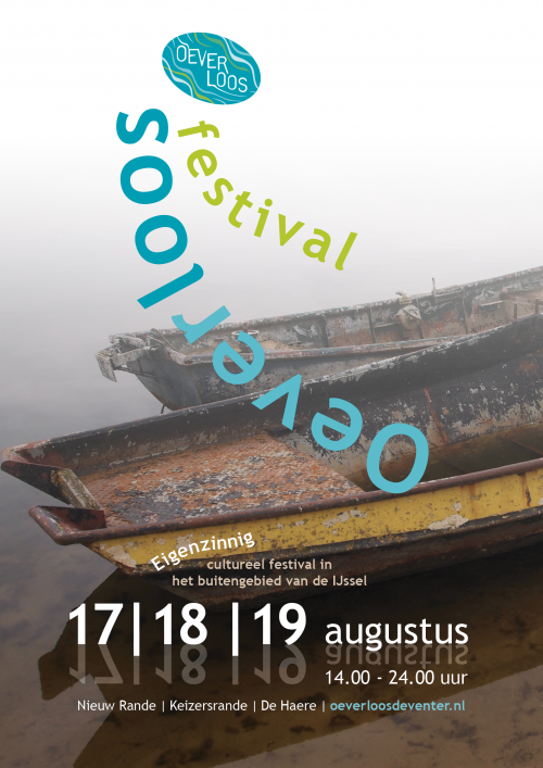 Affiche Festival Oeverloos 2017