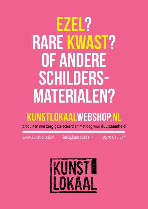 Raamposters KunstLokaal