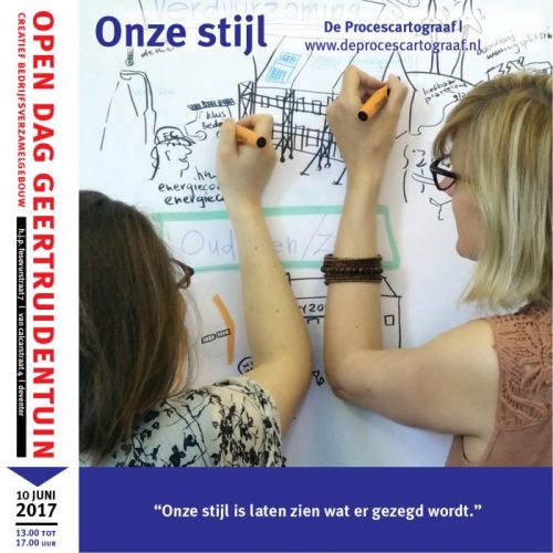 Facebook advertenties Open dag Geertruidentuin