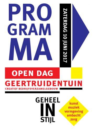 Folders Open dag Geertruidentuin 2017